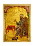 """A Scene from a 13th Century Arabic Version of """"Dioscorides"""" Materia Medica"""