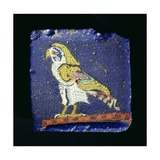 Glass Fragment with a Horus Falcon
