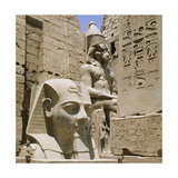 Monumental Sculpture and Relief Carvings at Luxor