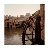 The Noria Water Wheel and Dam  Hama
