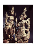 Temple Guardian Figures