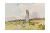 Menhir Near Merivale Bridge   C1895-96
