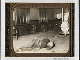 Police Station Lodgers 19 the Single Typhus Lodger in Eldridge Street  He Lay by the Stove in…