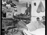 "Lodgers in a Crowded Bayard Street Tenement - ""Five Cents a Spot"""