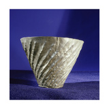 Fluted Silver Drinking Vessel  One of a Collection of Silver Objects Presented by Amenemhat II to…