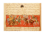 Scene from the Only known Illustrated Manuscript of the Poem  the Romance of Varqa and Gulshah …