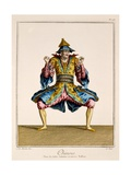 Chinois  from the 'Ballet Des Indes Galantes'  Late 18th Century