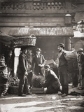 Covent Garden Labourers  from 'Street Life in London'  by J Thomson and Adolphe Smith  1877