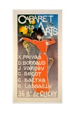 Poster for 'Cabaret Des Arts'  C1900