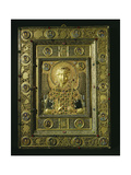 A Relief Icon with a Central Panel with a Bust of the Archangel St Michael Surrounded by…