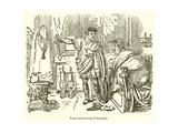Titus Threatening Pomponius