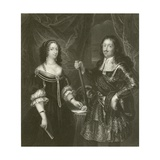 Ferdinand of Medicis and His Consort