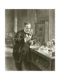 Dr Louis Pasteur in His Laboratory