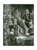 The Presentation of the Bible at the Inauguration of Oliver Cromwell as Lord Protector