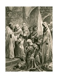 The Anointing of Edward the Martyr at His Coronation
