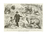 Visit to the Antediluvian Reptiles at Sydenham-Master Tom Strongly Objects to Having His Mind…