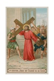 Jesus Carries His Cross the Second Station of the Cross