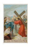 Jesus Meets His Mother the Fourth Station of the Cross