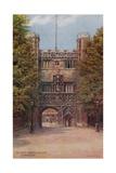 Gateway Trinity College  Cambridge
