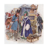 Great Expectations  Estella Arrives in Cheapside by Coach from Rochester