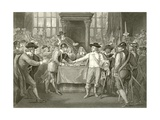 Oliver Cromwell Dissolving the Long Parliament