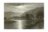 Tintern Abbey - Moonlight on the Wye