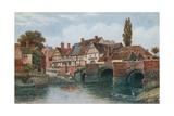 King John's Bridge  Old Bear Inn  Tewkesbury