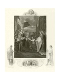 William I Receiving the Crown of England