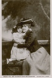 Mrs Seymour Hicks and Daughter