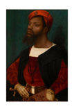 Portrait of an African Man  C1530