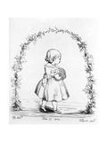 Victoria  the Princess Royal  Engraved by Prince Albert  1842