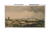 View in Epping Forest  Near High Beech  Essex  C1848