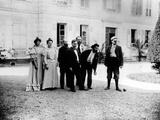 A Game of Pétanque at 'Le Relais'  Home of the Natanson Family in Villeneuve-Sur-Yonne  C 1899