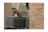 Jim Morrison Tomb in Pere Lachaise Cemetery Paris
