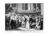 Nuptial Ceremony of German Jews  1725
