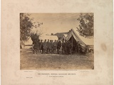 The President  General Mcclellan and Suite On Antietam  3rd October  1862