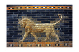 Mesopotamian Art Neo-Babylonian The Throne Room of Nebuchadnezzar II Reconstructed Facade…