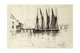 Greaves' Boatyard  Lindsay Wharf  Chelsea  1870