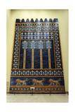 Mesopotamian Art Neo-Babylonian The Throne Room of Nebuchadnezzar II Reconstructed Facade…