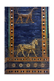 Ishtar Gate The Eight Gate of the Inner Wall of Babylon Built in 575 BC by Order to…