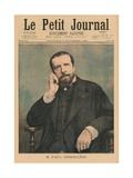 Paul Deroulede  Front Cover Illustration from 'Le Petit Journal'  Supplement Illustre  3rd…