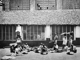 Cleaning and Sorting Coffee  Colombo  1870