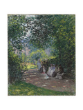 In the Park Monceau  1878