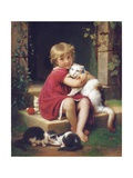 Her Favourite Pet  1867