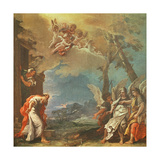 Abraham Welcoming the Angels  C1695