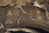 Petroglyphs of Stupas  Granite  C200-800 Ad  Chilas  Pakistan