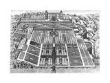 View of the Villa D'Este and Gardens  1575
