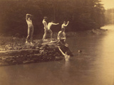 Study for the Swimming Hole  1883