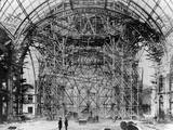 Construction of the Grand Palais  Paris  1898-9