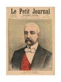 Felix Faure  President of the French Republic  Front Cover Illustration from 'Le Petit Journal' …
